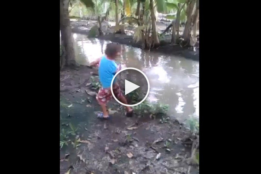 Kid Fishing Like UPCAT